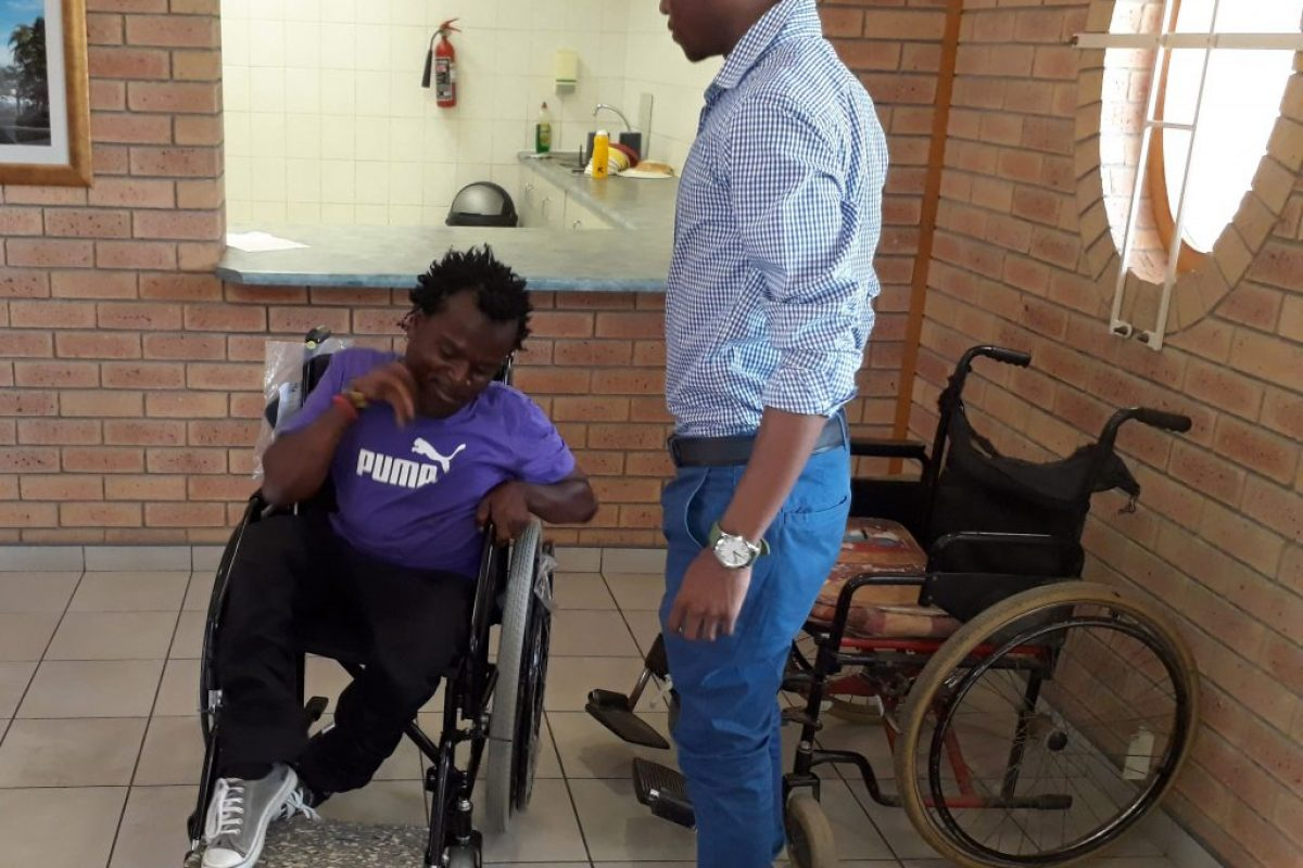 Giving the Gift of Movement ~ Wheelchair from The sweethearts Foundation